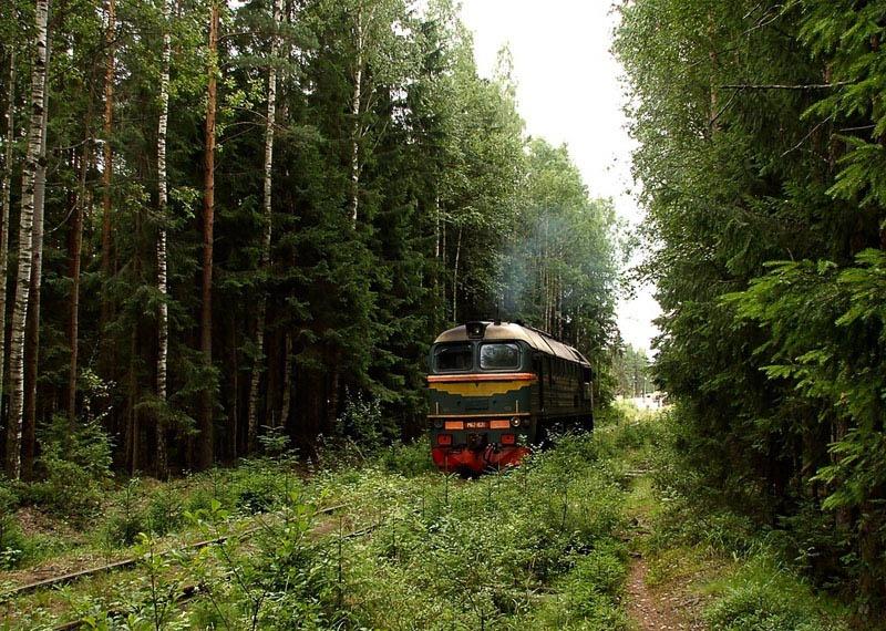 Поезда России (60 фото)