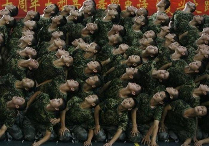 Армия китая смешные картинки