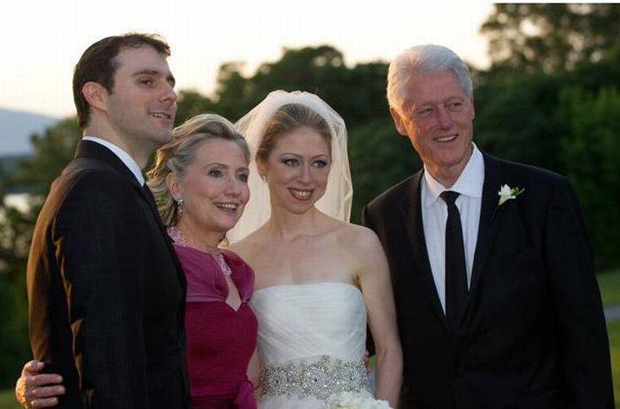 Свадьба дочери Клинтона (23 фото)