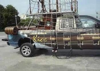 Додж Яхт? НА соревнованиях по автозвуку