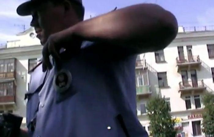 Общение с ГИБДД часть 121 (фото+видео)
