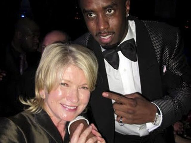 Martha Stewart and Sean 'Diddy' Combs