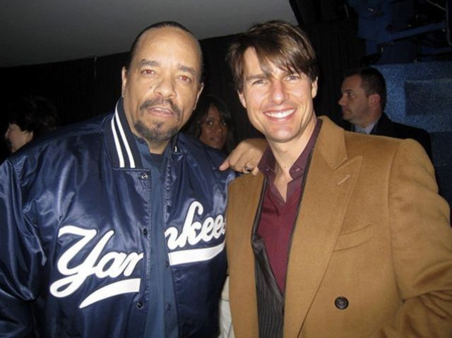 Ice-T and Tom Cruise