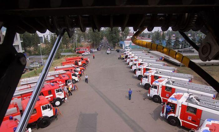 Большая победа российских пожарников
