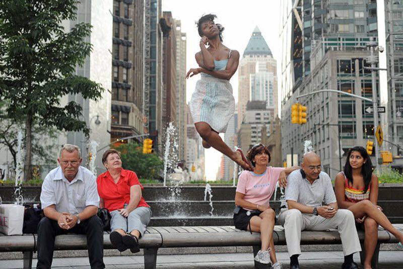 Мишель Флит у «Columbus Circle». (JORDAN MATTER PHOTOGRAPHY / BARCROFT USA)