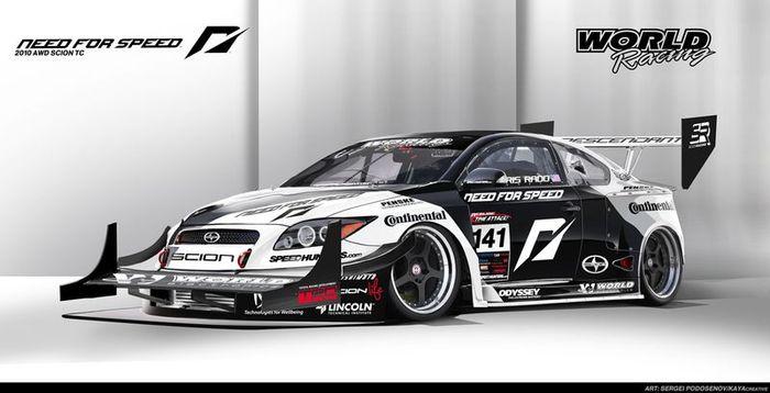 Need for Speed получила 1100-сильный Scion TC  (12 фото)