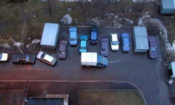 Подборка мастеров парковки (21 фото)