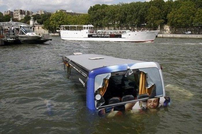 Незапланированная автобусная экскурсия-подводная (5 фото)