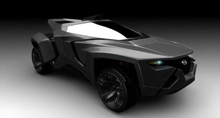 концепт кары джипов будущего