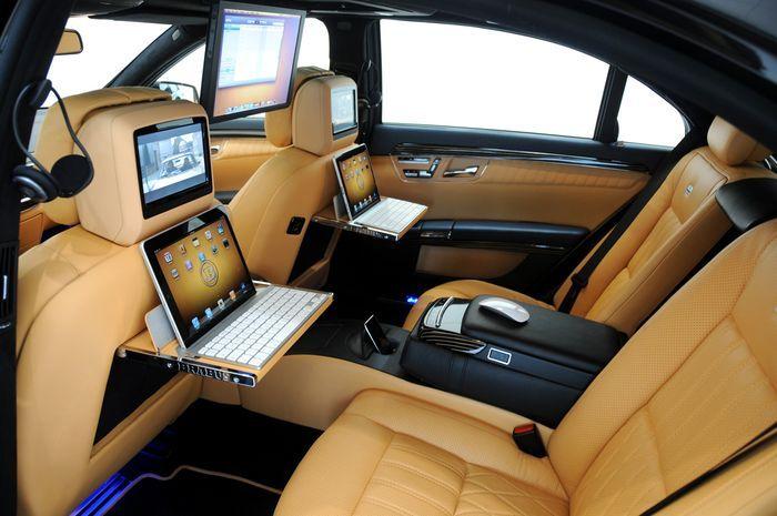 Brabus представил Mercedes iBusiness S-Class (21 фото)