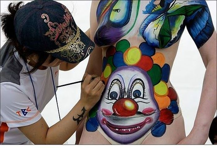 speech of body art Performance art is a genre in which the actions by the artist are the final, actual piace of art body art and feminist art are often related tendencies.