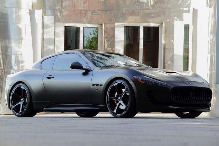 Maserati Gran Turismo S Black Edition от Anderson Germany (15 фото)