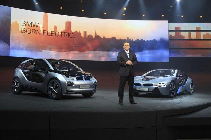 Два новых концепта BMW i3 и i8 (147 фото+6 видео)
