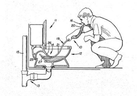 Устройство для застёгивания ботинок и ещё 9 совершенно бесполезных изобретений (9 фото)