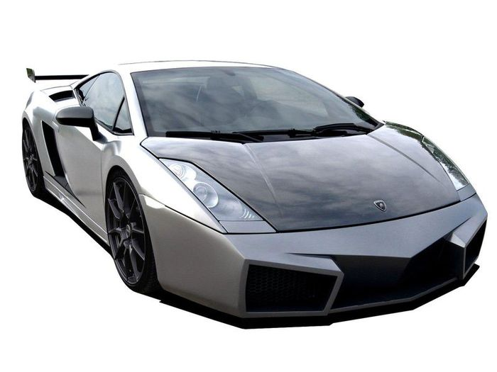Lamborghini Gallardo от ателье Cosa Design (5 фото)