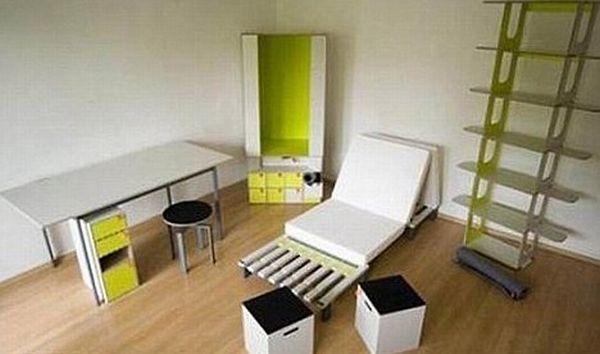 Вся мебель в одной коробке (7 фото + видео)