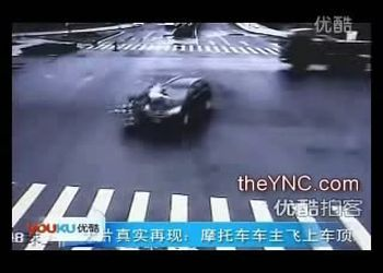 Страшная авария с мотоциклом