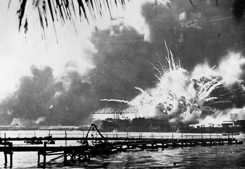 war01 Вторая мировая война: Атака на Перл Харбор (Часть 7)