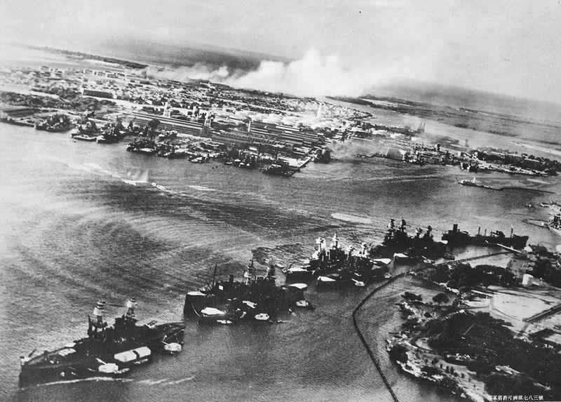 war07 Вторая мировая война: Атака на Перл Харбор (Часть 7)