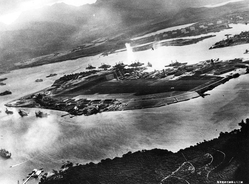 war10 Вторая мировая война: Атака на Перл Харбор (Часть 7)