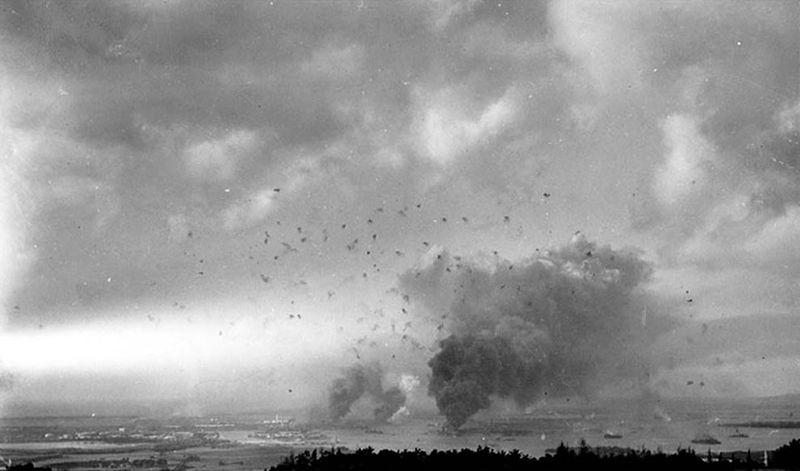 war12 Вторая мировая война: Атака на Перл Харбор (Часть 7)