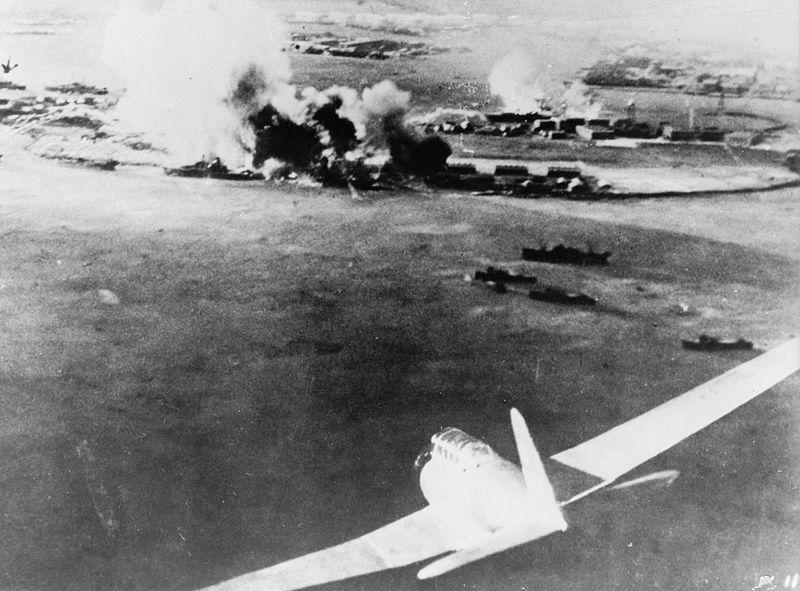 war14 Вторая мировая война: Атака на Перл Харбор (Часть 7)