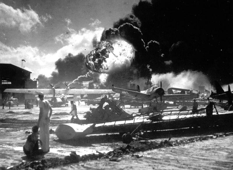 war15 Вторая мировая война: Атака на Перл Харбор (Часть 7)