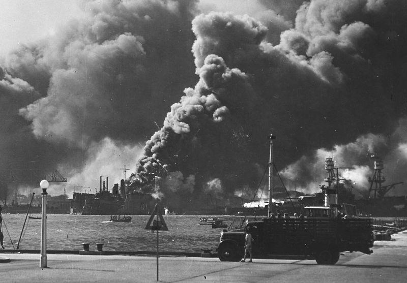 war18 Вторая мировая война: Атака на Перл Харбор (Часть 7)