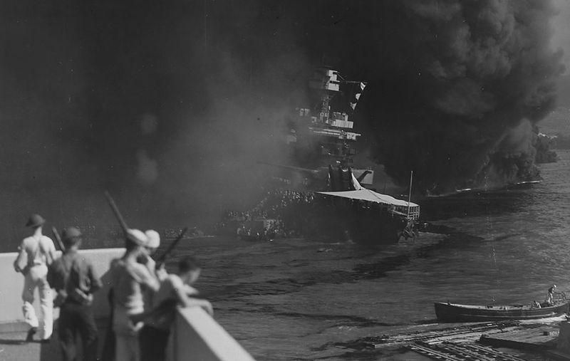 war19 Вторая мировая война: Атака на Перл Харбор (Часть 7)