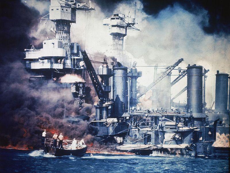 war20 Вторая мировая война: Атака на Перл Харбор (Часть 7)