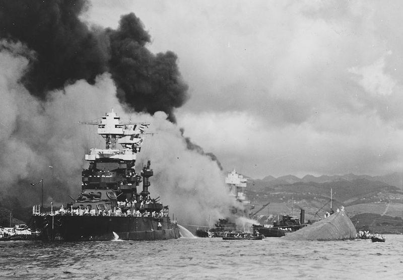 war26 Вторая мировая война: Атака на Перл Харбор (Часть 7)