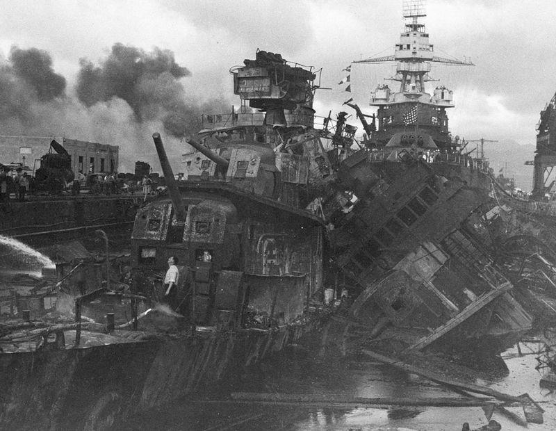 war35 Вторая мировая война: Атака на Перл Харбор (Часть 7)