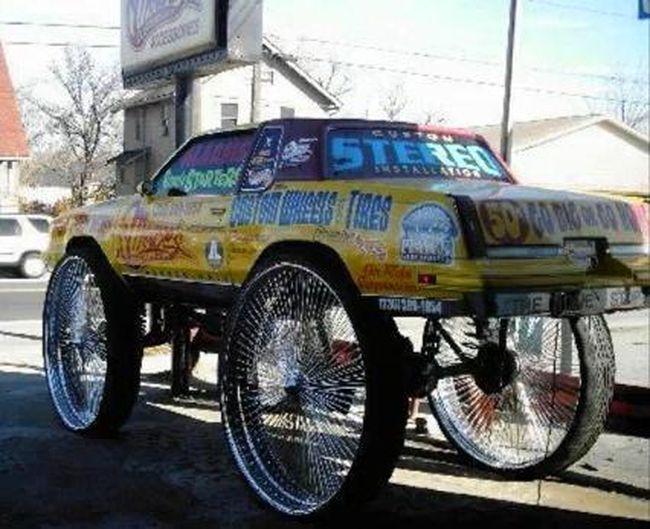Самые большие автомобильные колесные диски (2 фото+видео)