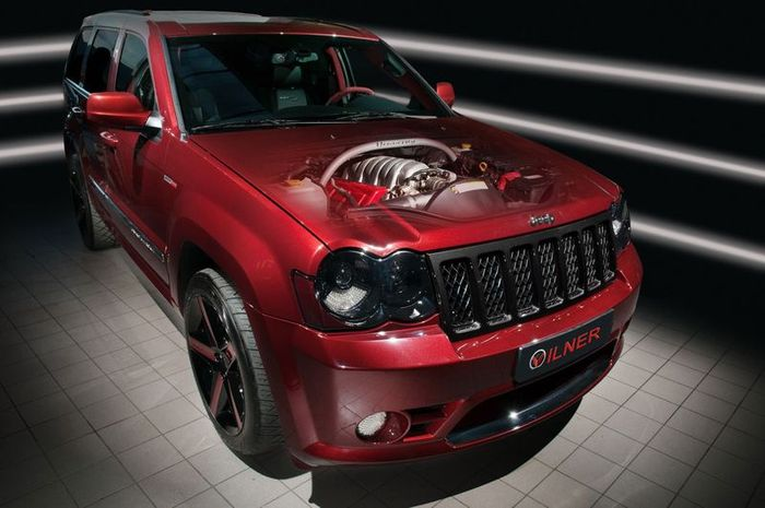 В Vilner затюнили Jeep Grand Cherokee SRT600 от Hennessey (8 фото)