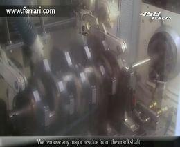 Производство мотора для Ferrari 458 Italia