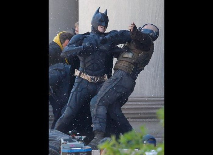 Первые кадры из нового фильма о Бэтмане (6 фото)