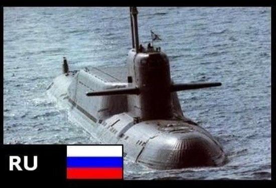 Как выглядит подводный флот разных стран мира (3 фото)