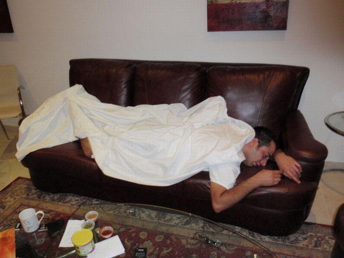 Студент спит (15 фото)