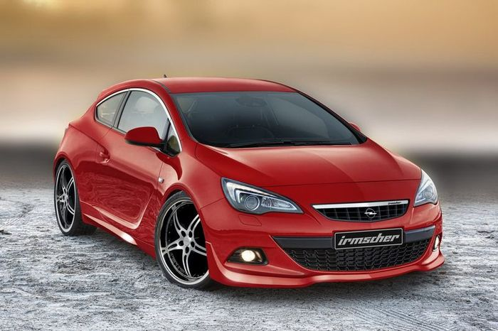 Opel Astra GTC от ателе Irmscher (3 фото)