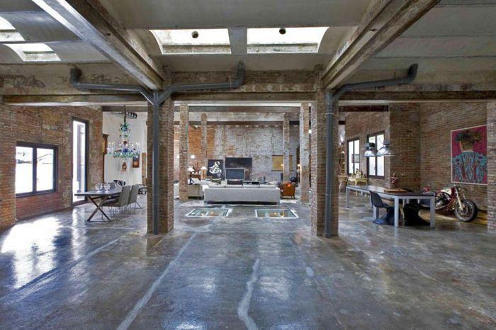 Из бомбоубежища в лофт – грандиозная трансформация (11 фото)