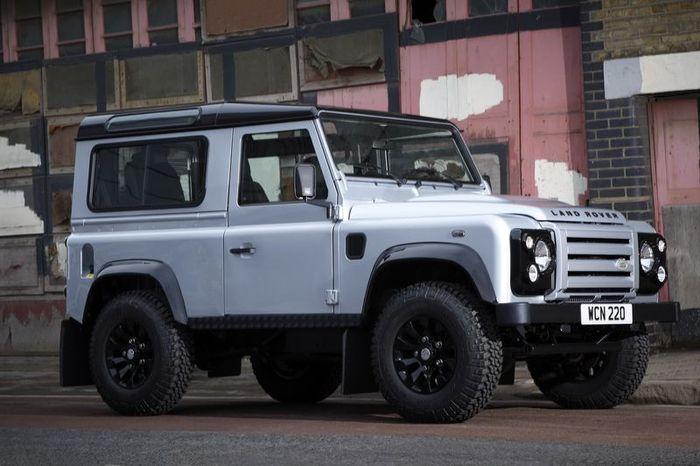 Концепт нового Defender от Land Rover (8 фото)
