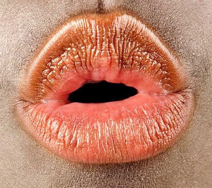 Фотографии человеческого рта (16 фото)