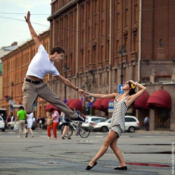 Танцующий Питербург (35 фото)