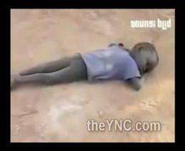 Умирающие от голода дети в Эфиопии