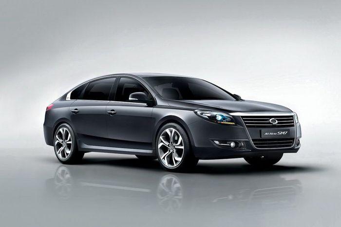 Samsung SM7 или Nissan Teana - новое поколение (5 фото+видео)
