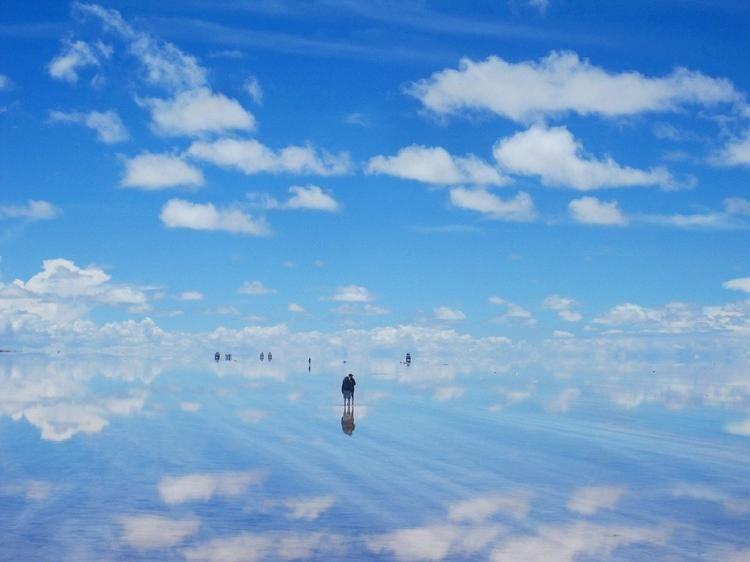 Крупнейший солончак в мире (58 фото)