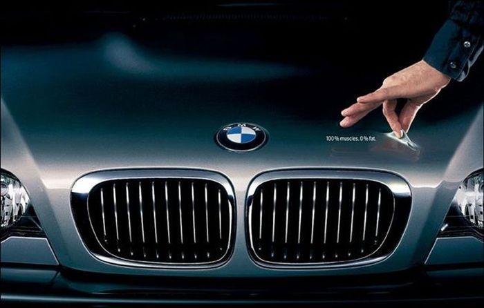 Лучшие рекламные плакаты BMW (56 фото)
