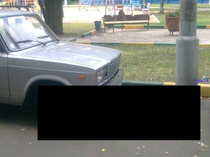 Противоугонка на ВАЗ 2107 (3 фото)