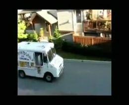 Странный фургон с мороженым