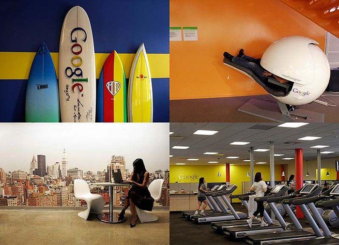 Офис мечты: Работа в компании Google (17 фото)
